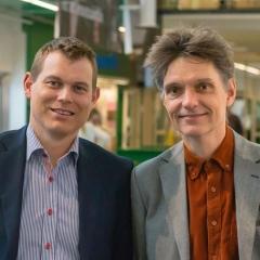 Magnus Linnarsson och Mats Hallenberg